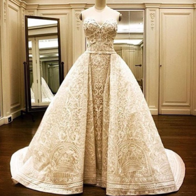 bridal fashion trends Sofia Vergara wedding dress