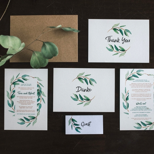 Wedding Stationery by Jasmine Designs