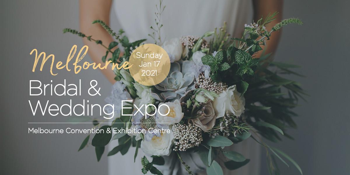 Melbourne Bridal Expo 2021 Banner
