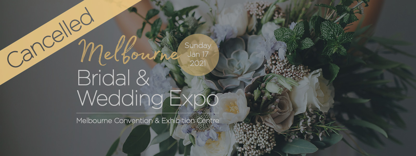 January Bridal Expo 2021 - Cancelled