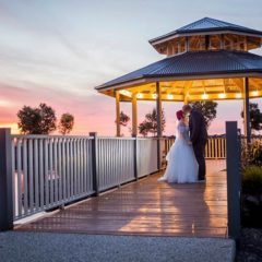 Seasons5 Resort & Spa - Couple getting married by Gazebo.
