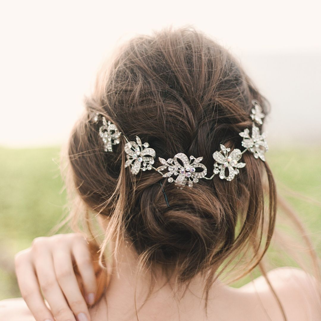 bridal hair accessory tips