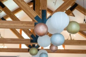 - Hanging Paper Lanterns - Easy Wedding Decorations