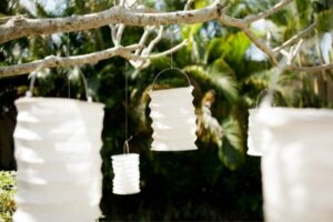 Paper Lanterns - Easy Wedding Decorations