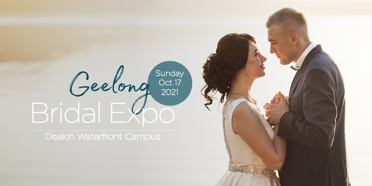 Geelong Bridal Expo October 2021 Banner