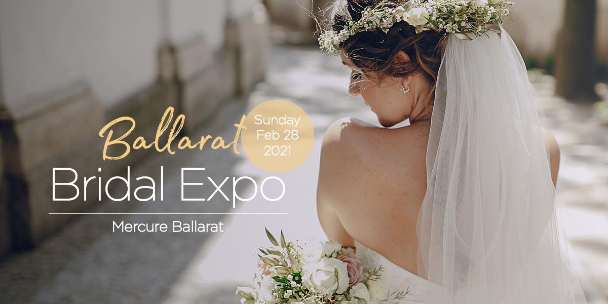 Ballarat Bridal Expos February 2021 Banner