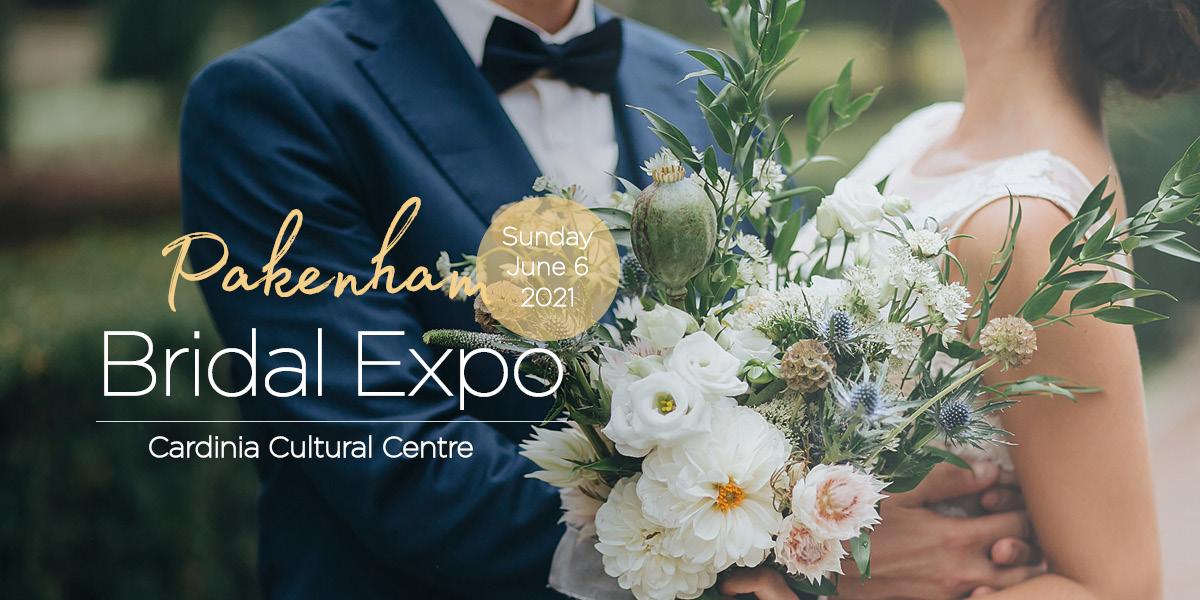 Pakenham Bridal Expo 2021 Banner