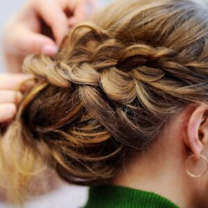 BRAID HAIRSTYLE FOR YOUR WEDDING DAY